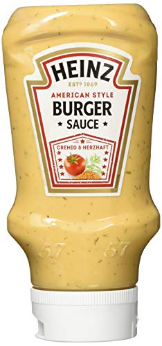 Heinz American Burger Sauce Kopfsteherflasche, 10er Pack (10 x 400 ml)