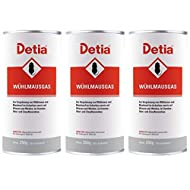Detia Vole Gas 750 g – Grounding Against Voles and Moles. No waiting. Not dangerous to bees. Can be used all year round in the garden.