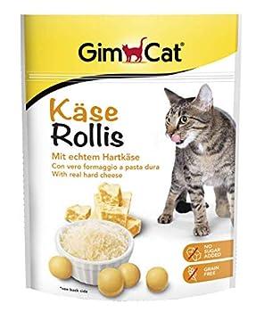 GimCat Snack pour Chat Käse Rollis
