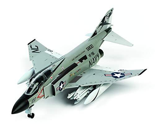 童友社 1/72 凄!プラモデル アメリカ海軍 F-4JファントムII ショータイム100 色分け済みプラモデル 72-F4J-...