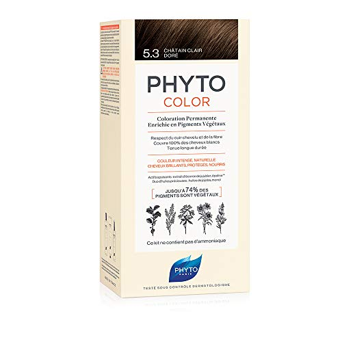 Phytocolor Permanente Coloration 5.3 Hellbraun vergoldet