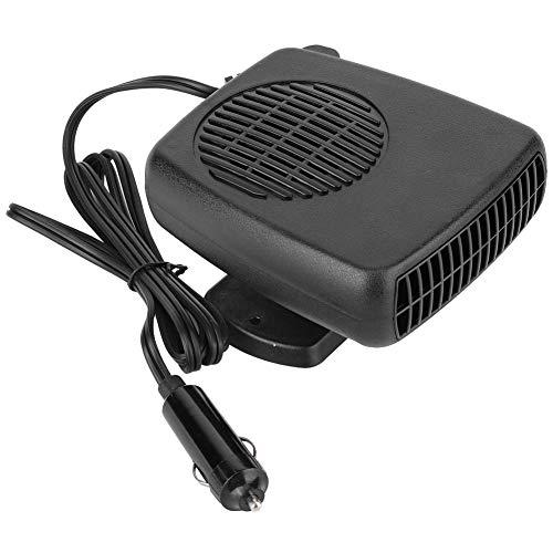 Ventilador Calefactor Desempañador, Calefactor para Coche 12V Portátil, 12V Desempañador Del Calentador de Cerámica del Coche, Universal del Coche Desempañador