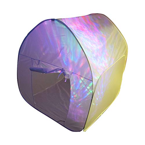 Large White Pop Up Play Tent For Light Projection Sensory Den/Room Toys For Children with Carry Bag