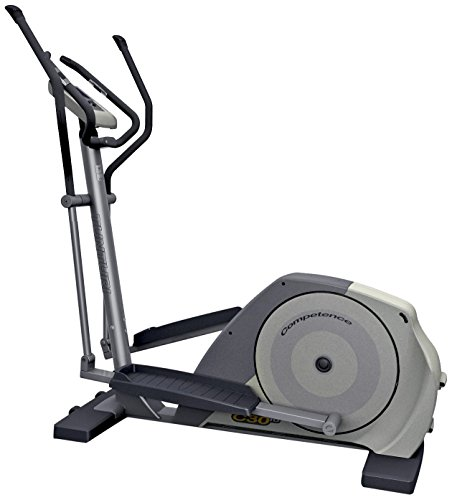 Tunturi C30 - Elíptica de Fitness (programable, Manual, Ritmo cardiaco), Color Gris