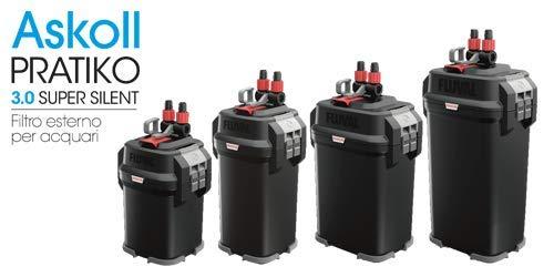 Askoll Pratiko 100 3.0 Super Silent Filtro Esterno per acquari Fino a 130 Litri New 2019