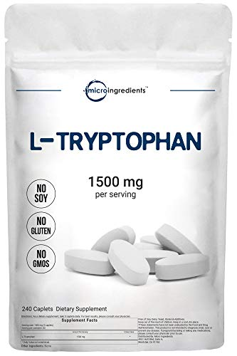 Micro Ingredients L-Tryptophan Supplement,...