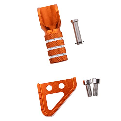Sharplace Pedal de Freno Cambio de Velocidades Montado Piezas de Repuesto paar 125-530cc 690 950 990 Motocicleta