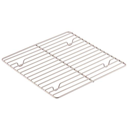 CHEFMADE Baking and Cooling Rack, 10.8-Inch Non-Stick Square Wire Rack for Oven Baking (Champagne Gold)
