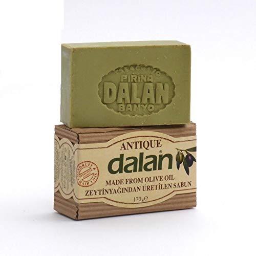 3 x Dalan d'Olive 100% Olivenölseife - Antique seife - 170 g