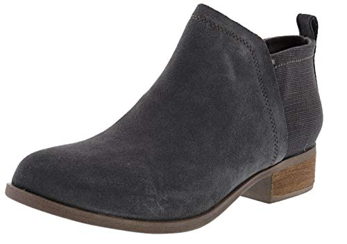 TOMS Women's Deia Ankle Bootie (Forged Iron, Numeric_7)