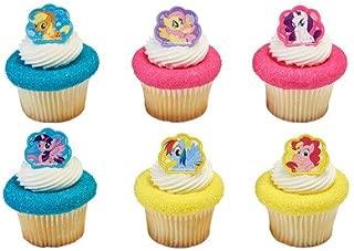 My Little Pony Cutie Beauty Cupcake Rings - 24 pc