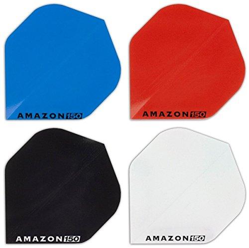 Amazon HD150 Dart Flights 4 Sets gemischt 150 Micron Flights Flys Standard - inkl. 1 Satz British Dart Flights - Menge wählbar - Qualitätsware