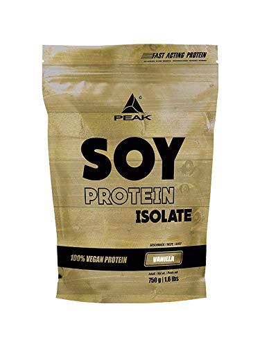PEAK Soy Protein Isolate Vanilla 750g   NEW DESIGN