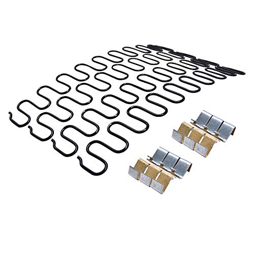 15inch Sofa Upholstery Spring Replacement- 4pk with Z Clips Wire for Furniture Chair Couch Repair