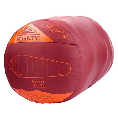 Kelty Cosmic 0 Degree Four Season Backpacking Down Sleeping Bag – 550 Fill Down Backpacking Sleeping Bag, 2021, Long