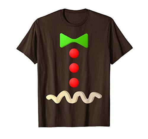Gingerbread Man Costume T-Shirt Halloween Costume Shirt T-Shirt
