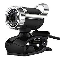 マイク内蔵ウェブカメラ Usb Hd Webcam with Micro High Definition Web Cam 360 Degrees Clip-on Camera For Skype Computer Youtube Pc Laptop Windows Xp