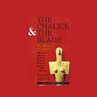 The Chalice and the Blade audiobook cover art