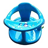 Baby Bathtub Seat, Bath Seat for Baby Baby Bathtub Seat for Sit-Up Bathing Baby Bath Support with Backrest Support and Suction Cups for Stability, Recommended Age is 6-18 Months, Blue