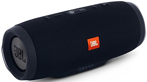 4 - JBL Charge 3 JBLCHARGE3BLKAM Waterproof Portable Bluetooth Speaker (Black)