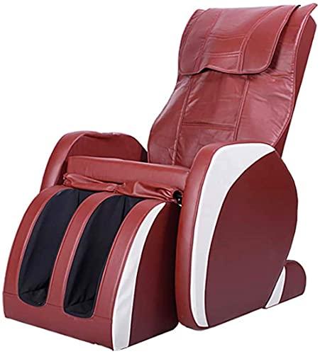 Sillón de masaje Masaje Silla de masaje Sofá de masaje multifuncional para la silla de masaje de calefacción para el hogar con cápsula eléctrica de cálculos de cuerpo completo de cero y silla de relax
