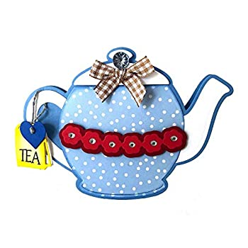 Teapot Fold-it Die Set for Card-Making and Scrapbooking by The Stamps of Life