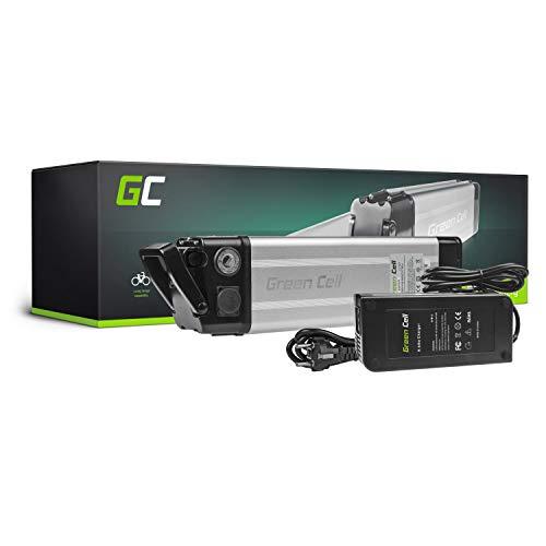 GC® Bateria Bicicleta Electrica 36V 8.8Ah Silverfish Li-Ion E-Bike Batería + Cargador