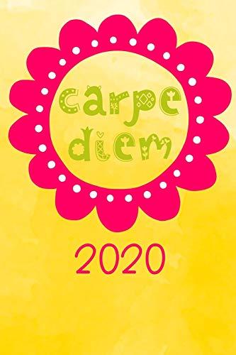 Carpe Diem 2020: Terminplaner | Wochenkalender | Monatskalender für 2020 im praktischen Taschenformat und tollen Carpe Diem Design