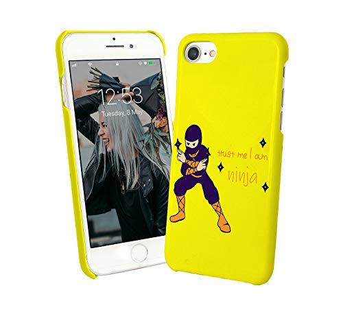 Trust Me I Am A Ninja_003541 - Carcasa de plástico duro para iPhone 6, 7, 8X, Galaxy Note 8, Huawei