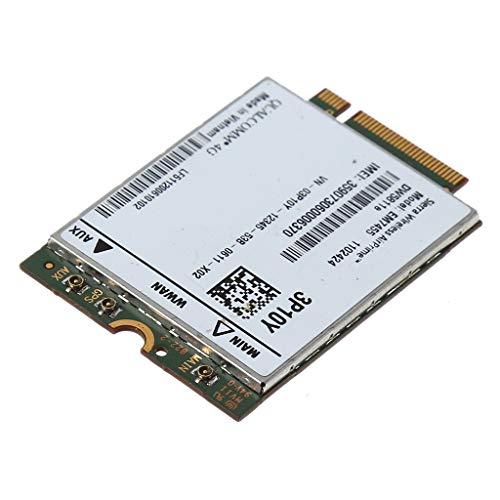 Ontracker EM7455 - Tarjeta de red inalámbrica de repuesto DW5811e 3P10Y Qualcomm 4G LTE WWAN NGFF para De-ll E7470 E7270 E5570 E5470