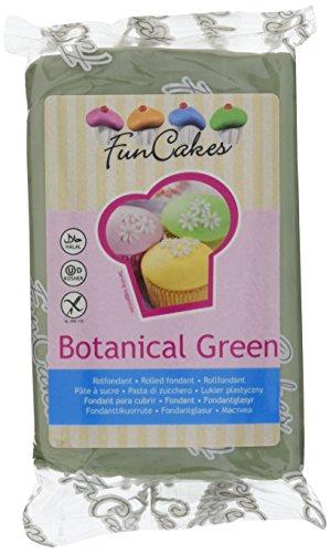 FunCakes Fondant -Botanical grün (1 x 250 g)