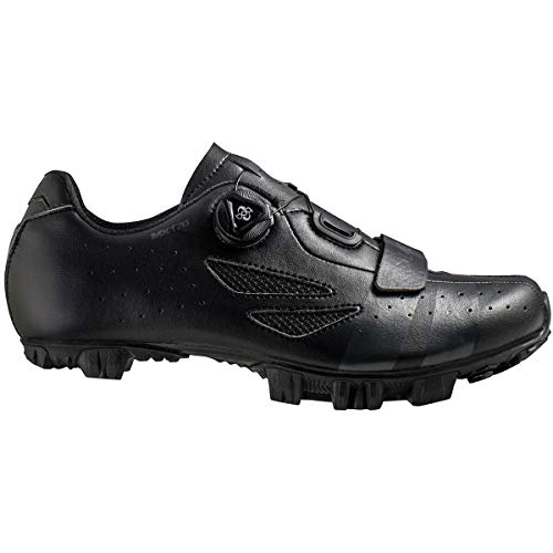Lake MX176 Cycling Shoe - Men's Black/Grey, 43.0