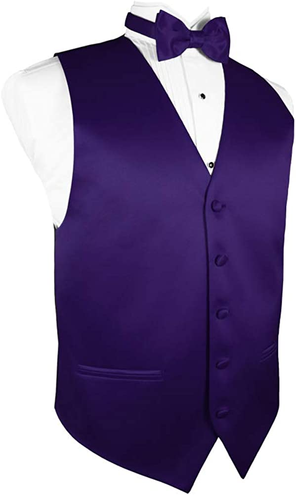 Cardi Luxury Satin 4-Piece Tuxedo Vest Set