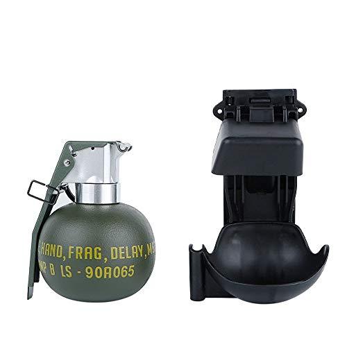 WO-EX06B - Set de faux grenade scénique pour cosplay M67 - Support ressort noir