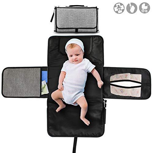 Buyger Cambiador Portátil de Pañales Plegable para Bebé Kit Cambiad