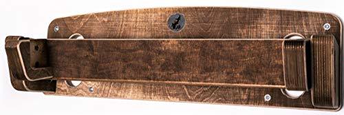 Captain Fingerfood Hangboard Trainingsboard Griffboard Wandhalterung (buletten braun)