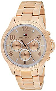 Reloj para mujer Tommy Hilfiger 1781642, mecanismo de cuarzo, diseño con varias esferas, correa de oro rosa. (B01BFCLOAQ) | Amazon price tracker / tracking, Amazon price history charts, Amazon price watches, Amazon price drop alerts