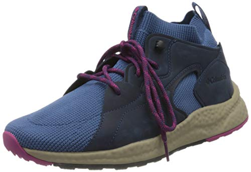 Columbia SH/FT OUTDRY MID Zapatillas de Senderismo, para Mujer, Azul (Scout Blue,...