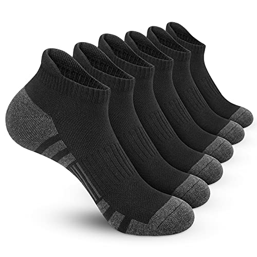 (30% OFF) Athletic Running Ankle Socks 6 Pack $11.89 – Coupon Code