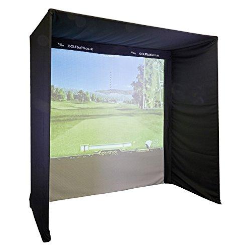 EasySimPro Kit-Form Golf Simulator Gehege 3.5 x 2.5 x 1.3 (Keine Polen)