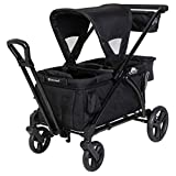 Baby Trend Expedition 2-in-1 Stroller Wagon PLUS, Ultra Black