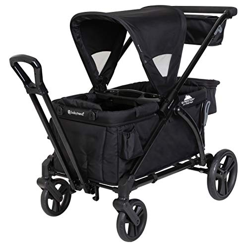 Cheapest Prices! Baby Trend Expedition Stroller Wagon Plus, Ultra Black