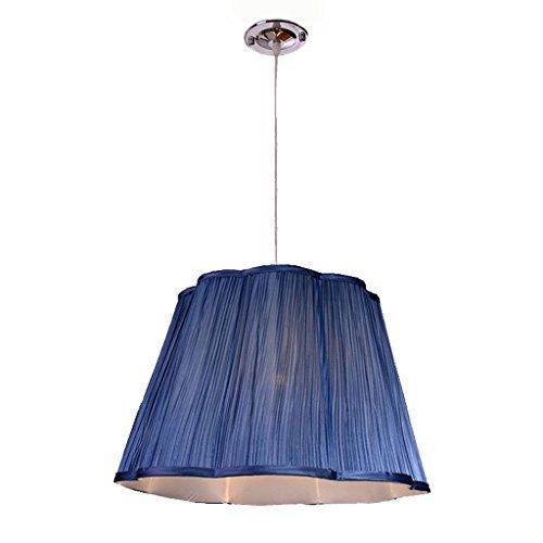 Lámpara de araña colgante Lámparas de araña Lámpara de araña de tela moderna simple de la tela, barra creativa simple de LED contrarrestan la decoración del dormitorio que cuelga luces Lámpara de tech