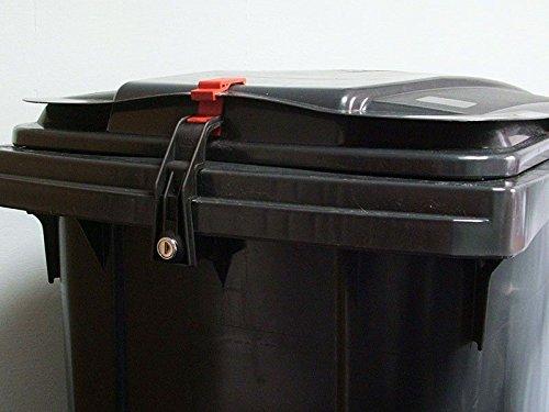 *CTS Mülltonnenverschluss Mülltonnenschloss 240 Liter für Otto Mülltonnen (gleichschließend)*