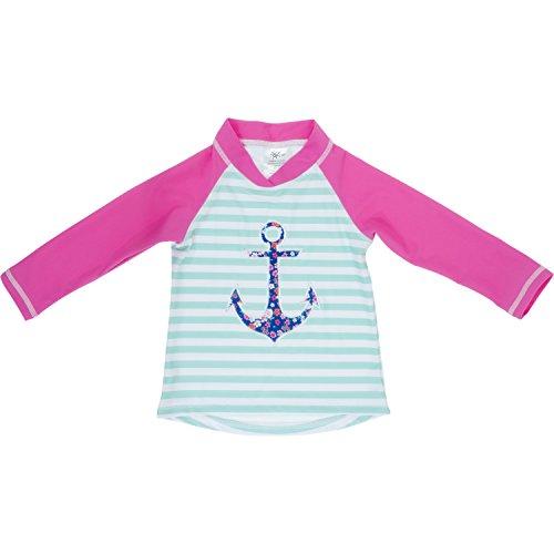 Baby Banz Camiseta Termica Manga Larga ANTI-UV Ancla, 2 años.