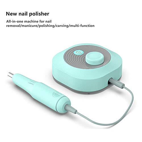 Elektrische Nail Drill Bits Set Mill Snijder Machine Smart for Manicure Polijsten Gift 24W Nail Art Equipment Met Accessory Box