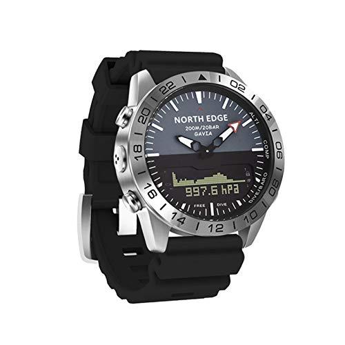 YXJ Reloj Inteligente Impermeable 200M Altura Brújula Buceo Cuarzo Negocio Deportes Bluetooth Ritmo Cardíaco Presión Arterial Presión Arterial Monitoreo De Oxígeno,D
