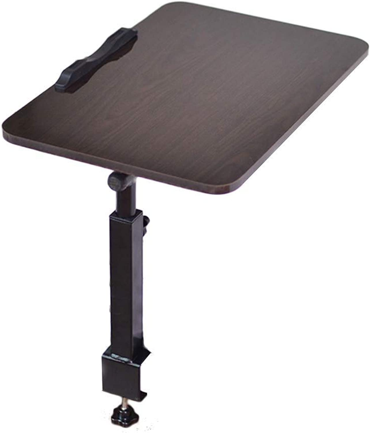 Bed Hanging and Lifting Folding Table College Laptop Table Multi-Function Dining Table (Size  60X40CM) == (color   B)