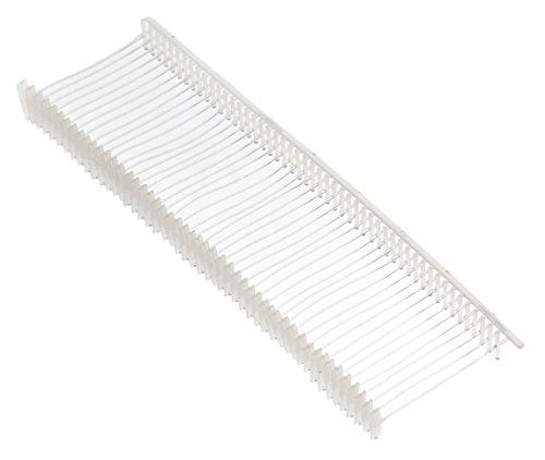 APLI 101572 - Pack de 5000 pasadores de plástico finos para etiquetadora textil, gris/azul, 25 mm