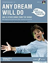Any Dream Will Do: Piano/voice/guitar (Sing Musical Theatre) (Mixed media product) - Common